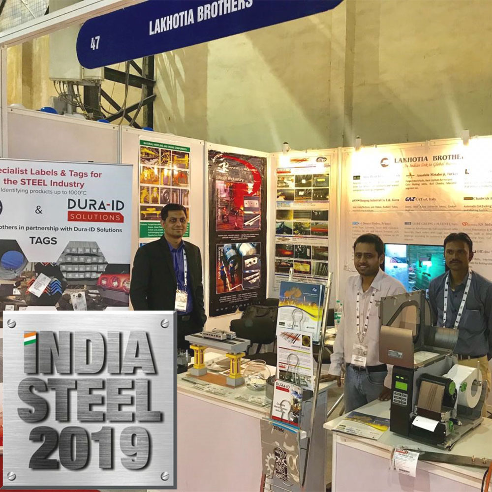 Image of India Steel Expo 2019 show for the metals market in India