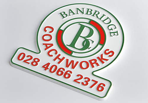 Branding Badges - Vehicle Body Building Services