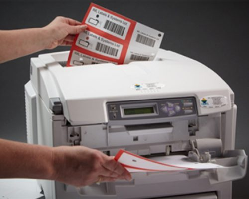 Label printing demonstration