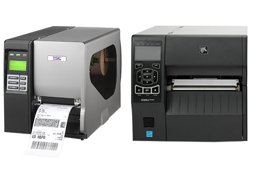 TSC and Zebra Thermal Transfer Printers